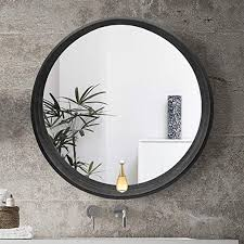lqy bathroom mirror solid wood