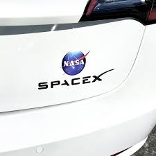 Space X Trunk Emblem Nasa Decal From 18 With 20 Off