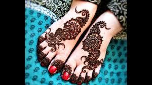 mehndi design for foot bridal
