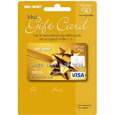 how to use visa gift card name