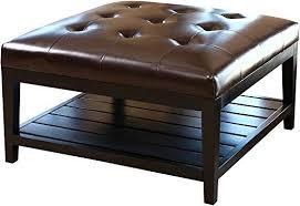abbyson villagio tufted leather