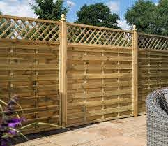 Rowlinson Halkin 6 X 4 Ft Fence Panel Gardensite Co Uk