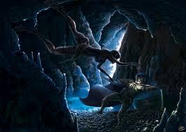 The Hobbit - Gollum and Bilbo by Ranghos on DeviantArt