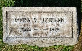 Myra Lydia Vosler Jordan (1864-1919) - Find A Grave Memorial