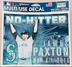 New Seattle Mariners James Paxton No Hitter Multi Use Car Window Decal Ebay Seattle Mariners James Paxton New Trucks