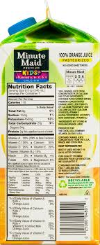 minute maid premium kids vitamins