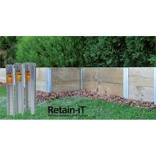 Whites Outdoor 750 X 75mm Retain It End Post Bunnings Warehouse