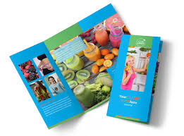 nutrition education brochure template