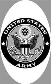 4 X 6 U S Army Decal Static Cling Window Film World