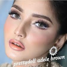 Jual Softlens Prettydoll Adele Brown (Coklat Natural) - Jakarta ...