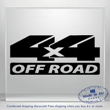 Off Road Vinyl Sticker 4x4 Truck Auto Car Bumper Window Decal Atv Bike Jeep Suv Ebay