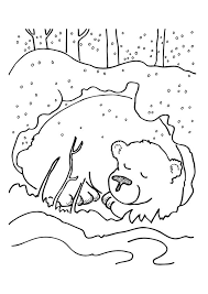 Top 25 Winter Coloring Pages For Your Little Ones Kleurplaten