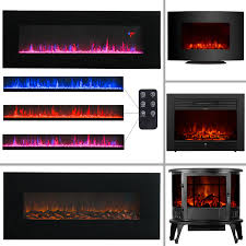 1500w electric fireplace heater stove