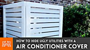 How To Make An Air Conditioner Cover Fence I Like To Make Stuff