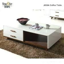 glass center table design wooden centre