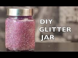 diy how to make a glitter jar you