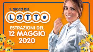 Estrazione Lotto SuperEnalotto Simbolotto 12 maggio 2020