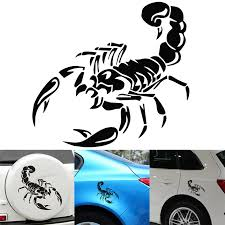 New 30cm 3d Cute Scorpion Motorcycle Car Stickers And Decals Car Styling Stickers Funny Car Stickers For All Car Car Sticker Car Styling Stickersfunny Car Stickers Aliexpress