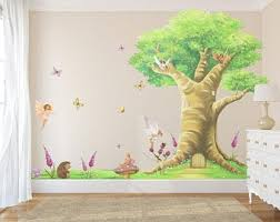 Fairy Wall Stickers Fairy Wall Decals Set Of 8 Watercolor Etsy