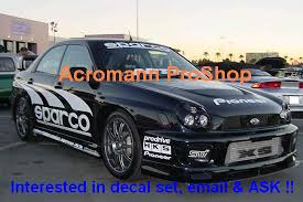 Sparco Windshield Decal Style 1