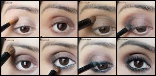 soft brown smokey eyes