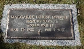 Margaret Louise Sullivan Merkel (1922-2017) - Find A Grave Memorial