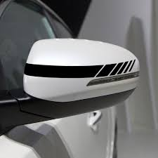 Car Stickers Reflective Vinyl Car Styling 4 Colors Rearview Mirror Decals Diy Exterior Accessories Exteri Rear View Mirror Decor Car Stickers Reflective Decals