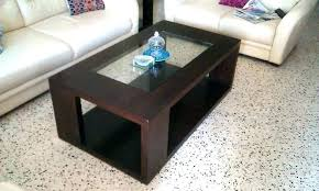 modern center table designs glass top