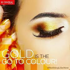 indian brides love gold eye makeup