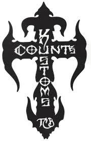 Count S Kross Sticker Black Seven Clothing Company