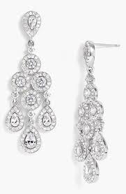 nadri framed chandelier earrings