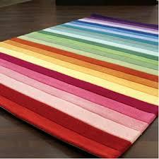 Rainbow Colourful Stripe Floor Rug Mat By Designer Kids Floor Rugs Colorful Floor Rugs Kids Bedroom Decor