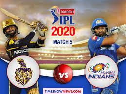KKR vs MI Live Cricket Score, IPL 2020 ...