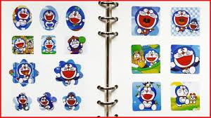 Đồ chơi dán hình Doraemon, Nobita, Xuka, Chaien, Xeko 200 hình dán ...