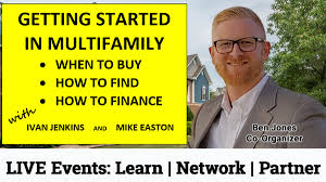 Getting Started in Multifamily – When to Buy – How to Find – How to Finance  | Meetup