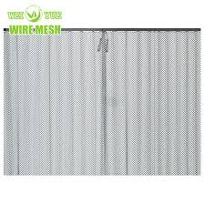 china fireplace metal curtain screen