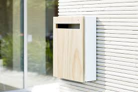 Wall Mounted Letterbox The Wall Mounted Mailbox From Javi Design