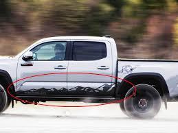 Tacoma Mountains Decals Toyota Tacoma Jeep Wrangler Accessories Wrangler Accessories