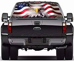 Amazon Com Practlsol Car Decals 1 Pcs American Flag Eagle Decal Rear Window Decal Truck Stickers Car Decal Vinyl For Car Truck Suv Jeep Universal Scratch Hidden Car Stickers 53 15 Inch X 14 17 Inch Automotive