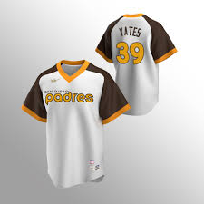 Padres Kirby Yates Men's Cooperstown Collection Home Jersey White