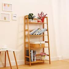 ladder wall shelf bookcase storage