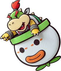 Paper Bowser Jr Paper Mario Sticker Star By Kingbjkoopa Paper Mario Sticker Star Super Mario Art Paper Mario