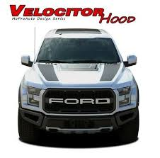 Ford F 150 Raptor Decals Velocitor Hood Stripes 3m Vinyl Graphics 2018 2019 2020 Ebay