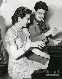 Barbara Stanwyck and Preston Sturges Photograph by Photo Researchers