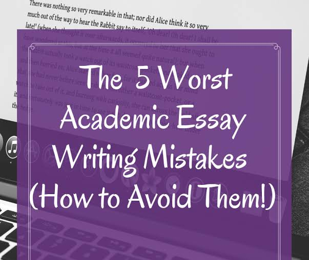 Image result for 5 Mistakes to Avoid When Writing Academic Essays""