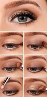 the 6 step eye makeup tutorial for