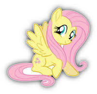 My Little Pony Fluttershy Wall Stickers Mural 19 Decals Horse Room Decor Mlp For Sale Online