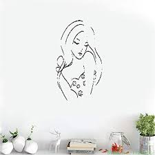 Amazon Com Lauaz Vinyl Wall Decal Wall Stickers Art Decor Girl Woman Female Hot Sexy Modern For Bedroom Home Kitchen