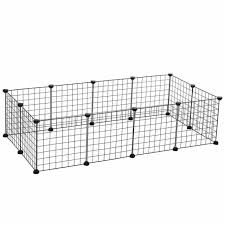 Dog Pet Play Pen Kennel Outdoor Indoor Fence Home 4 Panel Portable Puppy Gate For Sale Online Ebay