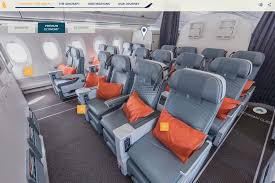 new a350 premium economy layouts offer